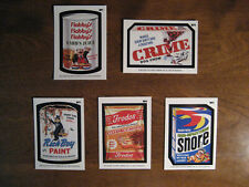 2020 Wacky Packages All New Series September Wonky Packages WP1 through WP5