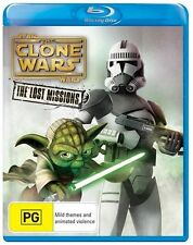 Star Wars The Clone Wars Lost Missions Season series 6 blu ray Sixth Series RB