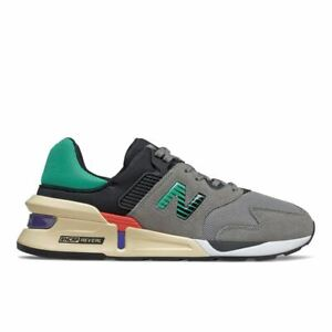 New Balance 997S Mens Sports Shoes Lifestyle Trainers ENCAP Sole Grey [MS997JEB]