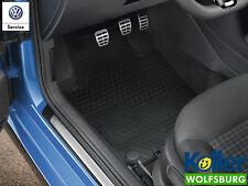 Original VW Polo 6R, Gummimatten Fußmatten vorn hinten 4-tlg.