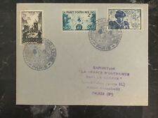 1940 paris France cover Stamp Exposition