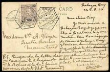 Lourenco Marques 1910 view card to Mauritius/20r/GORJAO
