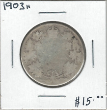 Canada 1903H 50 Cents Silver
