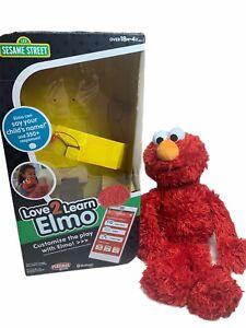 ELMO LOVE 2 LEARN Sesame Street Playskool BOX