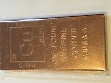 1 pound copper CU element bar, solid copper by REEDERSONG