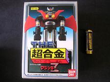 Bandai The Chogokin GT-01 Mazinger Z Bullmark Popy Grendizer Goldorak Voltes DX