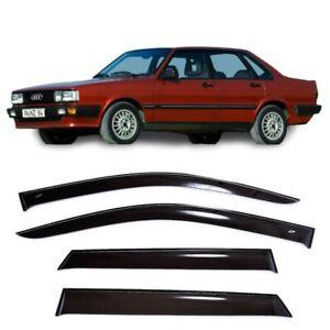 For Audi 80 (B2) Sd 1978-1986 Window Visors Side Sun Rain Guard Vent Deflectors
