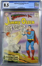 Superman's Pal JIMMY OLSEN 40 CGC 8.5 DC 1959 4th Highest Grade Only 7 Higher