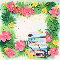 Stanzschablone Blume Blätter Hochzeit Weihnachts Geburtstag Album Karte Deko DIY