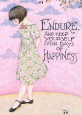 Endure For Days Of Happiness-Handcrafted Fridge Magnet-w/Mary Engelbreit art