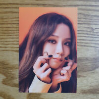 Jisoo Official Postcard BlackPink 1st Full Album The Album Kpop Genuine