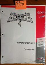 Case RMX370 Tandem Disc Parts Catalog Manual 7-8520