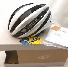 Giro Synthe MIPS Cycling Helmet Matte White Silver Medium