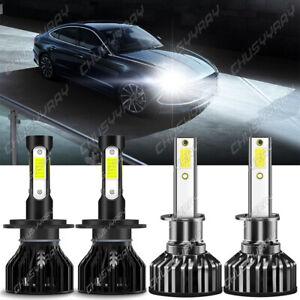 H1+H7 Kit de faros LED Bombillas de haz alto y bajo for Hyundai Sonata Elantra