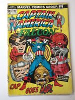 Captain America & The Falcon #162 June 1974 Marvel Cap' Goes Mad POOR Loose Page