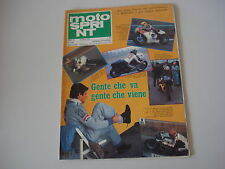 MOTOSPRINT 9/1978 PROVA TEST LAVERDA FORMULA 500