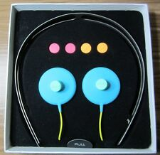 AIAIAI headphones with microphe with interchangeable coloured sliders FASTSHIP!