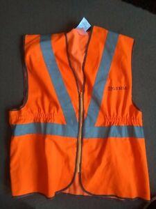 GTRM Hi Vis railway waistcoat jacket PPE train