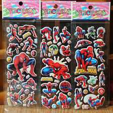10 sheets Spiderman boys stickers party favours bag fillers