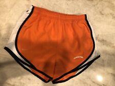 NIKE DRI FIT Princeton University Tigers Extra Small RUNNING SHORTS Orange Black