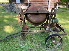 Antique Chain Belt Co. cement mixer