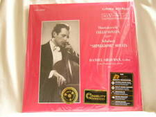 SHOSTAKOVICH Cello Sonata SCHUBERT Arpeggione DANIEL SHAFRAN 200 gram SEALED LP
