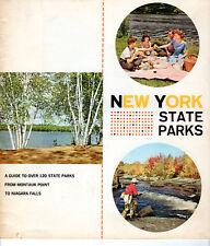 1968 New York State Parks Guide to 120 Parks Gov Nelson Rockefeller Niagara