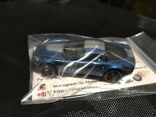 HOT WHEELS 2012 Corvette Stingray Z06 Blue Chevrolet 10 Pack Exclusive Rare VHTF
