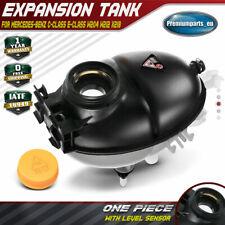 Radiator Coolant Expansion Tank w/ Sensor for Mercedes-Benz C/E-Class W204 W212