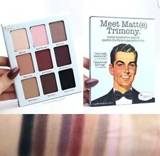The Balm Meet Matt(e) Trimony. Eye Shadow Palette With Mirror