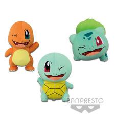 Pokemon Charmander Squirtle Bulbasaur 3 Plush set Banpresto (100% authentic)
