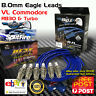EAGLE IGNITION LEADS and SPLITFIRE SPARK PLUGS Kit Fits Commodore VL Nissan RB30