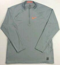 Men's Nike Pro Hyperwarm Fitted Quarter 1/4 Zip Shirt Size Xxl