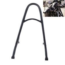 Black Short Sissy Bar Backrest For Harley Sportster XL 883 1200