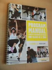 LES MILLS BODYJAM dance training instructor workout fitness book PROGRAM MANUAL