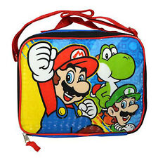 Super Mario Rectangle Lunch Bag with Shoulder Strap