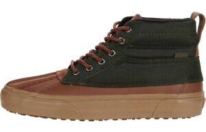 Vans Size 12 Sk8-Hi Del Pato M MTE Olive Green Tan Brown. VN0A34962UJ. NEW