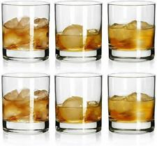 Rock Style Old Fashioned Whiskey Glasses 7Ounce, Short Glasses For Camping 6Pack