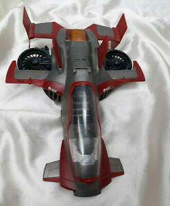 Marvel Avengers Iron Man Firestrike Assault Jet Vehicle Hasbro 2011
