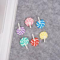 Lollis Lolly Lutscher Miniatur 1:12 Puppenstube Puppenhaus Candy Pop.