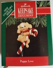 1991 Hallmark Puppy Love 1st in Series Ornament NIB NEW IN BOX
