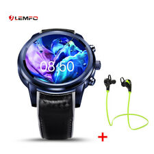 LEMFO LEM5Pro 2/16GB Phone 3G SIM Smart Watch Fitness GPS WiFi For Android iOS