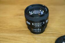 Nikon Nikkor 85mm f/1.8 AF-D Lens - Black