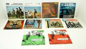 """Lot: 10x COUNTRY / WESTERN D 60s 7"""" PS 45 VA EP Capitol / RCA / Philips / CBS ++"""