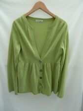 Green Pure Cashmere Cardigan - Autograph Weekend - UK 14