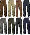 Solid Military BDU Cargo Fatigue Pants