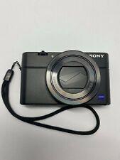 Sony RX100 Mark III Point and Shoot Camera, 24-70mm F1.8-2.8