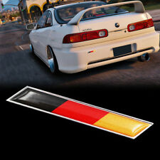 JDM 3D Germany Flag Stripe Emblem Badge For Car Front Rear Bumper Decor Sticker
