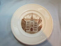 Wedgewood Collectible Plate Guild Hall First Edition 1941 England War Relief EW5
