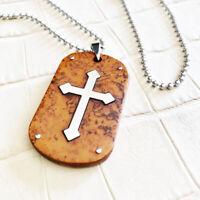EDELSTAHL Kette ROSENKRANZ Kreuz 🔴SALE🔴 JESUS Design Milano COLLANA Rosary 4